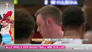 Clips of Philipp Herkenhoff from game 1 between Rasta Vechta and Brose Bamberg - May 19th 2019