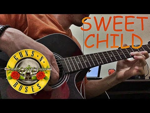 Sweet Child O' Mine Solo Acoustic Fingerstyle (+ TAB)