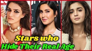 10 Bollywood Actresses Who Hide Their Real Age