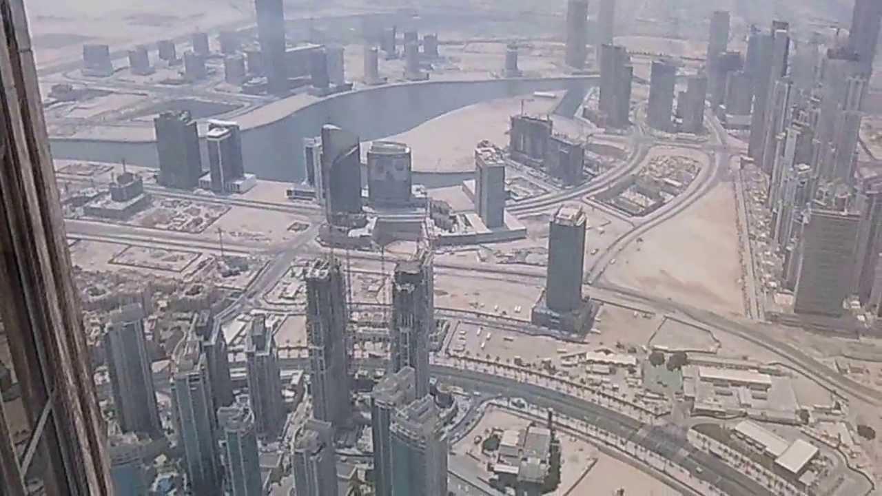 el edificio mas alto del mundo burj khalifa dubai subiendo el ascensor youtube