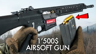 Playing with the most Realistic Airsoftgun - $1500
