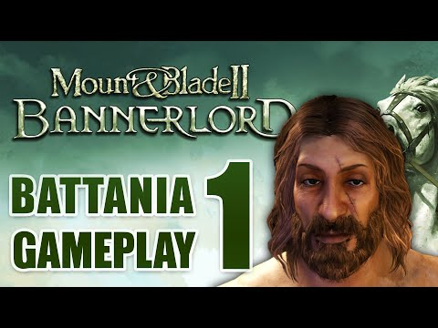 Mount and Blade 2 Bannerlord - Battania Gameplay ( No Commentary) #1  