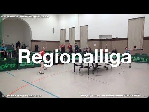 Regionalliga Süd | TTC Holzhausen - TTZ Sponeta | Highlights