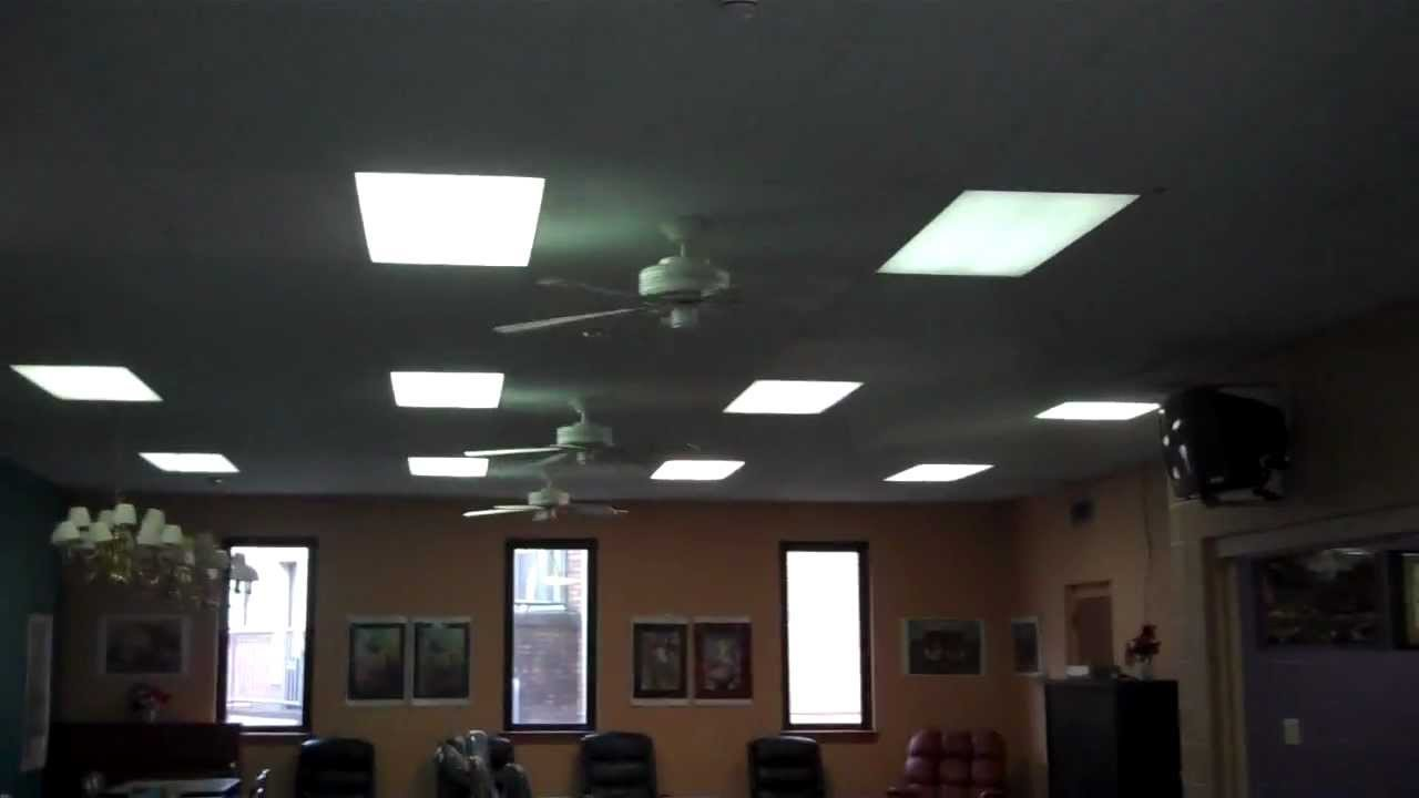 Old Hunter Passport Ii Ceiling Fans At My Church Youtube