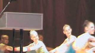 """""""ХОРОШКИ"""". Танец """"Радуга"""". 25 марта 2011г."""