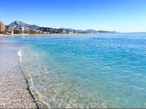 Malagueta Beach, Playa De La Malagueta, Málaga, Spain #malaga #malagueta #spain