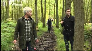 Gino D'Acampo goes Mushroom hunting with Holly Willoughby and Philip Schofield