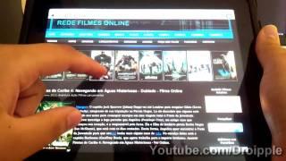 Repeat youtube video Como Assistir Filmes Online - iPad / iPhone