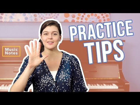 The 5 Most Important Practice Tips for Piano Success - Music Notes - Hoffman Academy