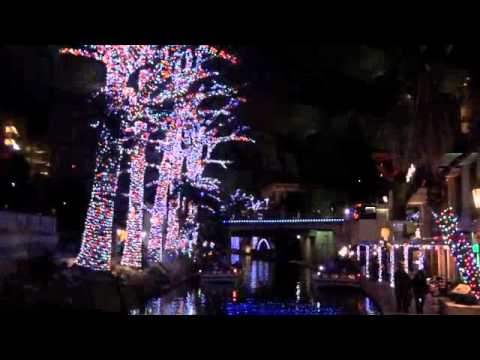 christmas on the san antonio river walk