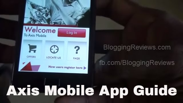 Using Axis Bank Mobile App Guide - YouTube