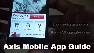 Using Axis Bank Mobile App Guide