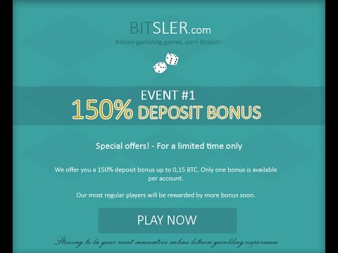 BitSler - Gambling Bitcoin Dice - Free Bitcoin