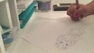 Emma speed draw!
