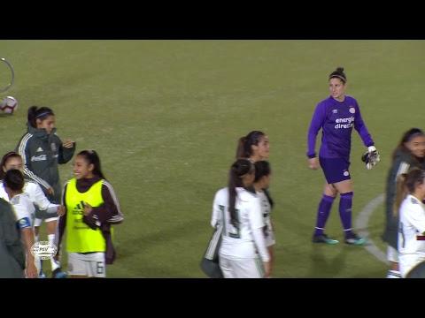 S. Nacional de Mxico Femenil  vs PSV EINDHOVEN