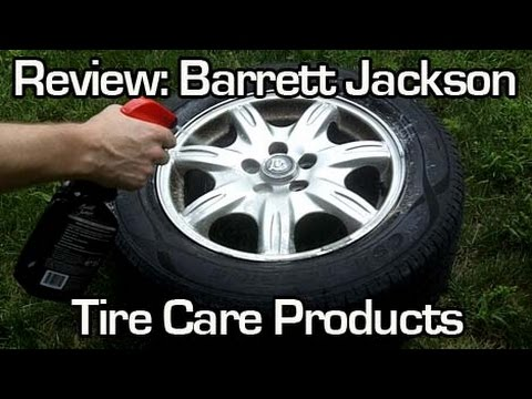 Review barrett jackson tire care products youtube