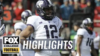 TCU vs Texas Tech | Highlights | FOX COLLEGE FOOTBALL