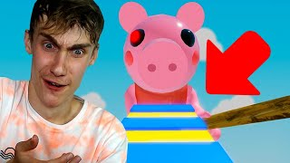 ONTSNAP AAN PIGGY OBBY IN ROBLOX! (Roblox Obby)