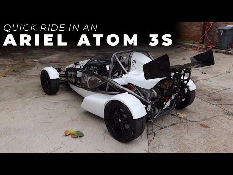 Quick Ride In An Ariel Atom 3S