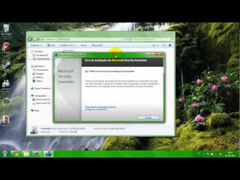 Como baixar e instalar um Antivirus gratuito [Microsoft Security Essentials]
