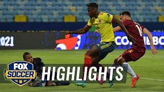 Wuilker Faríñez shuts down Colombia offense, earns draw for Venezuela   2021 Copa America Highlights