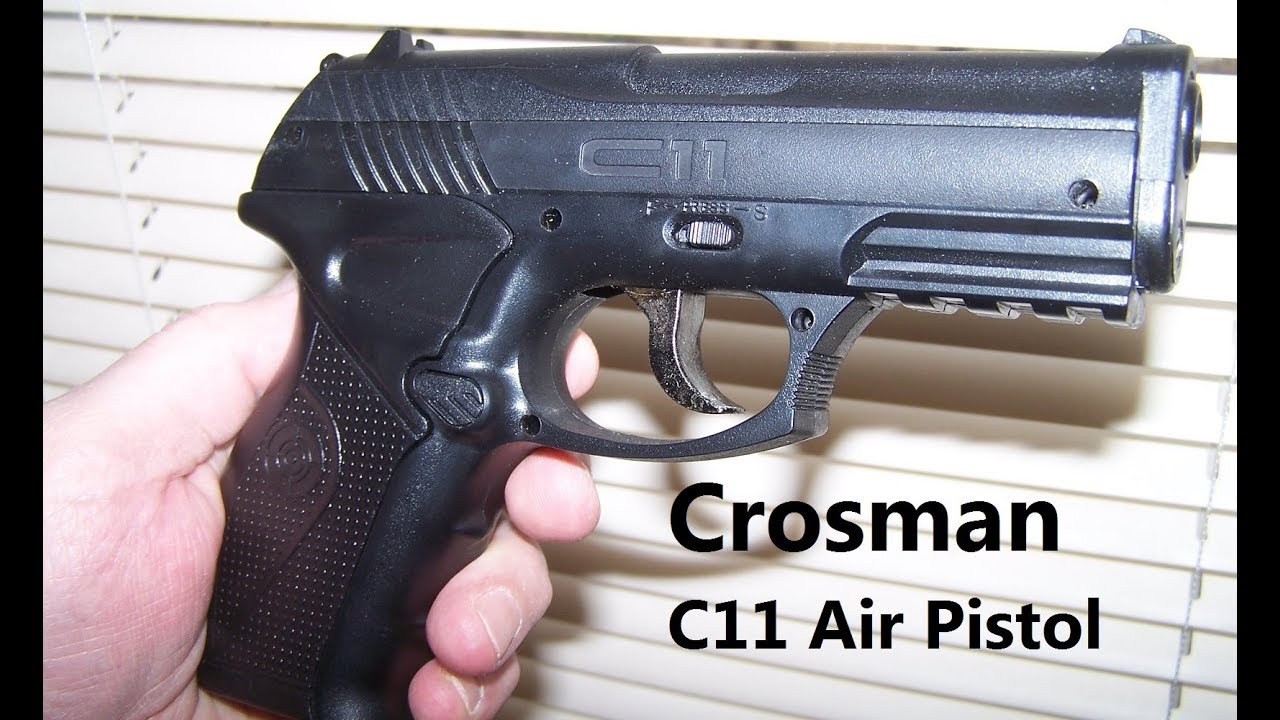 Crosman C11 Air Pistol, How Many BB's Will It Shoot with a 12g co2  Cartridge, I test it