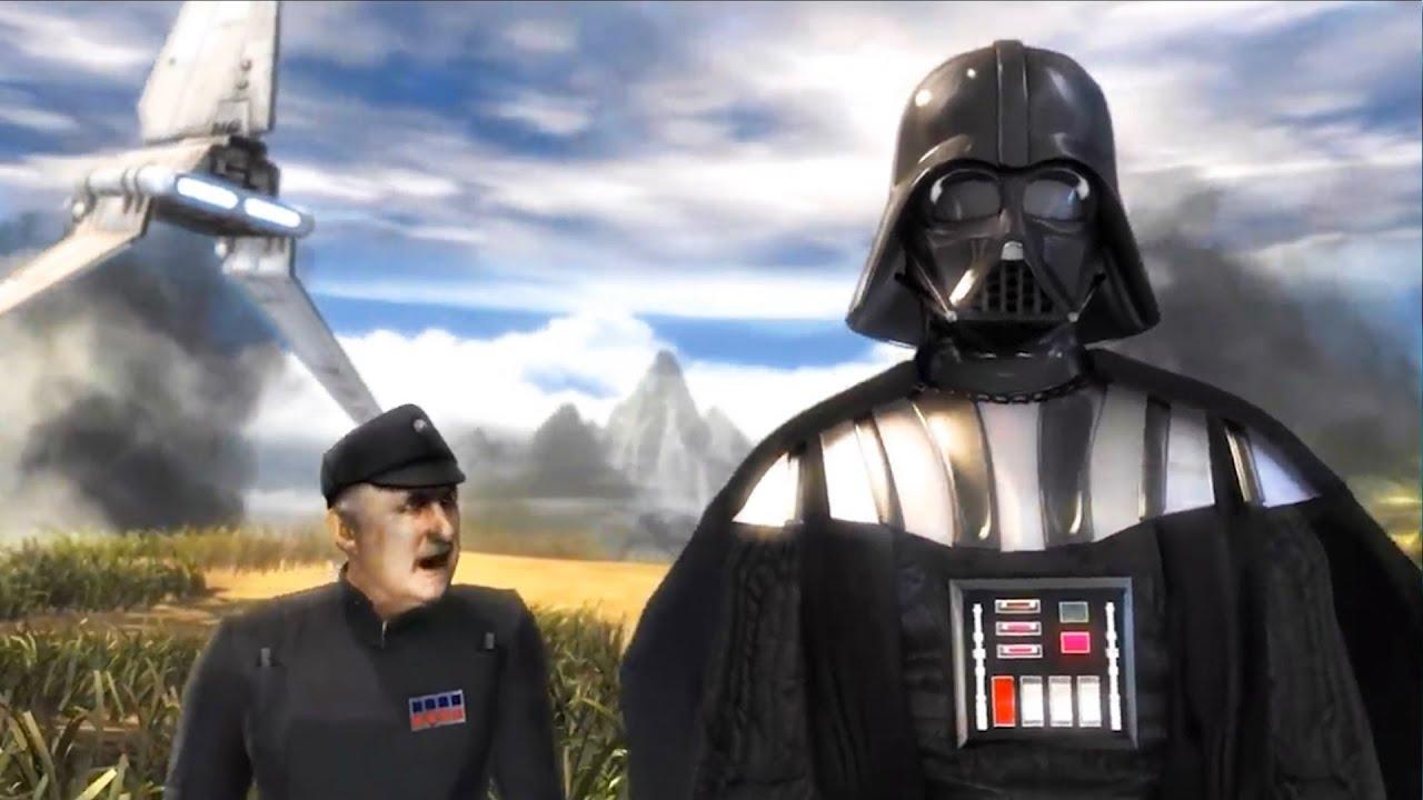 Darth Vader Storms Kashyyyk
