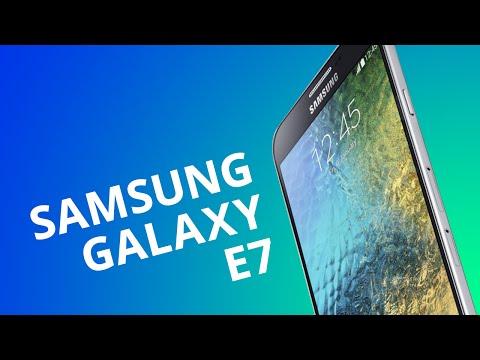 Samsung Galaxy E7 dual-chip [Análise]