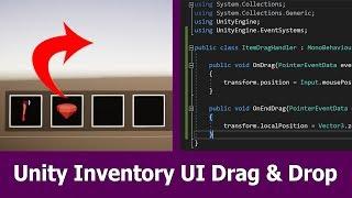 Unity Inventory: UI Drag & Drop Tutorial