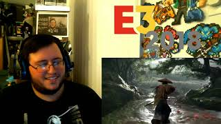 Ghost of Tsushima AMAZING Gameplay! - Sony's Conference 2018 LIVE Group Reaction (E3 2018)
