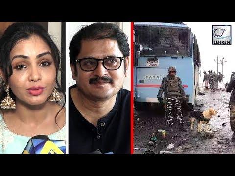Pulwama Attack में शहीदों के परिवार वालो से मिले  Shubhangi Atre,Rohitash , और की मदद
