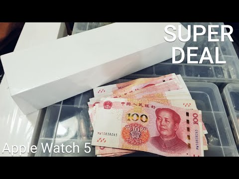 I Bought Brand New Apple Watch 5 In China - Super Deal