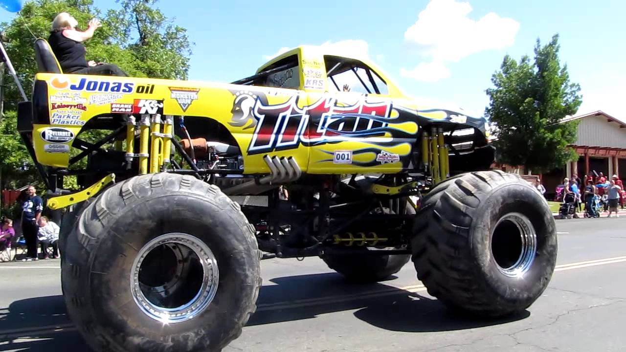 titan monster truck youtube. Black Bedroom Furniture Sets. Home Design Ideas