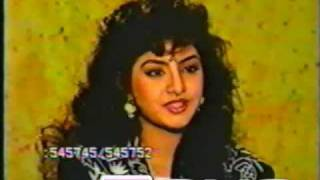 Repeat youtube video Divya Bharati - Pre Fame Interview (EXTREMELY Rare Video)