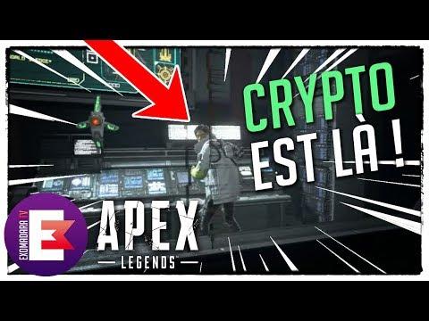 CRYPTO EST LÀ ! DANS LE LABORATOIRE | Apex Legends