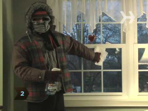 How To Insulate Your Windows With Plastic Youtube
