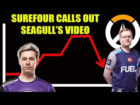SUREFOUR SAYS SEAGULL IS ALL WRONG! XQC RESPONDS TO THE STATE OF OVERWATCH!