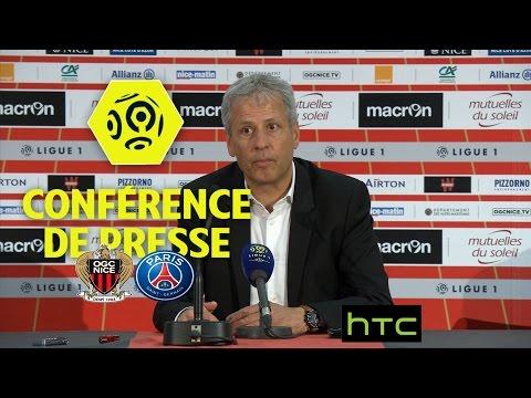 Conférence de presse OGC Nice - Paris Saint-Germain (3-1) - Ligue 1 / 2016-17