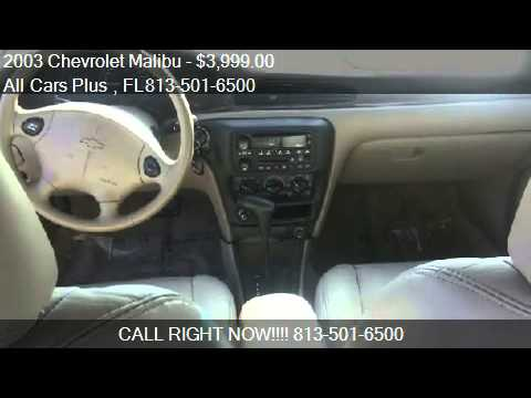 2003 Chevrolet Malibu LS for sale in Land O Lakes, FL 34639