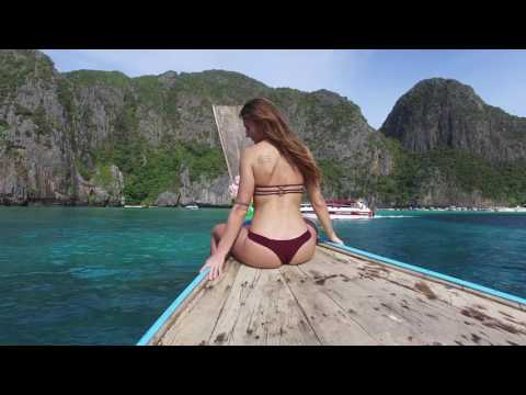 on the way   – Thailand 4K  Phuket, Phi Phi Island,  Krabi,  Tup Island, May Bay Island