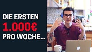 Affiliate Marketing für Anfänger - Die ersten 1.000€ in 1 Woche