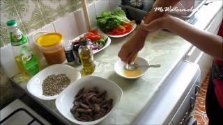 Рецепт от Алекс: Салат с говядиной wh_рецептоталекс