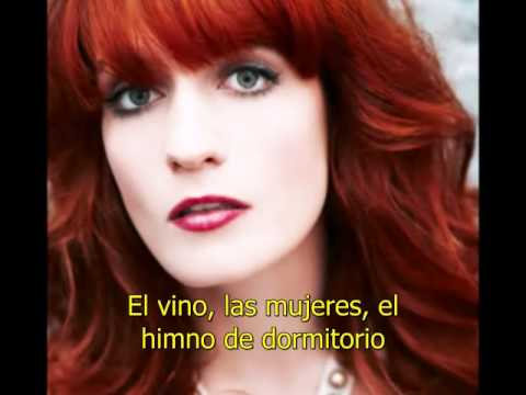 Florence and the machine bedroom hymns subtitulada en for Bedroom hymns lyrics