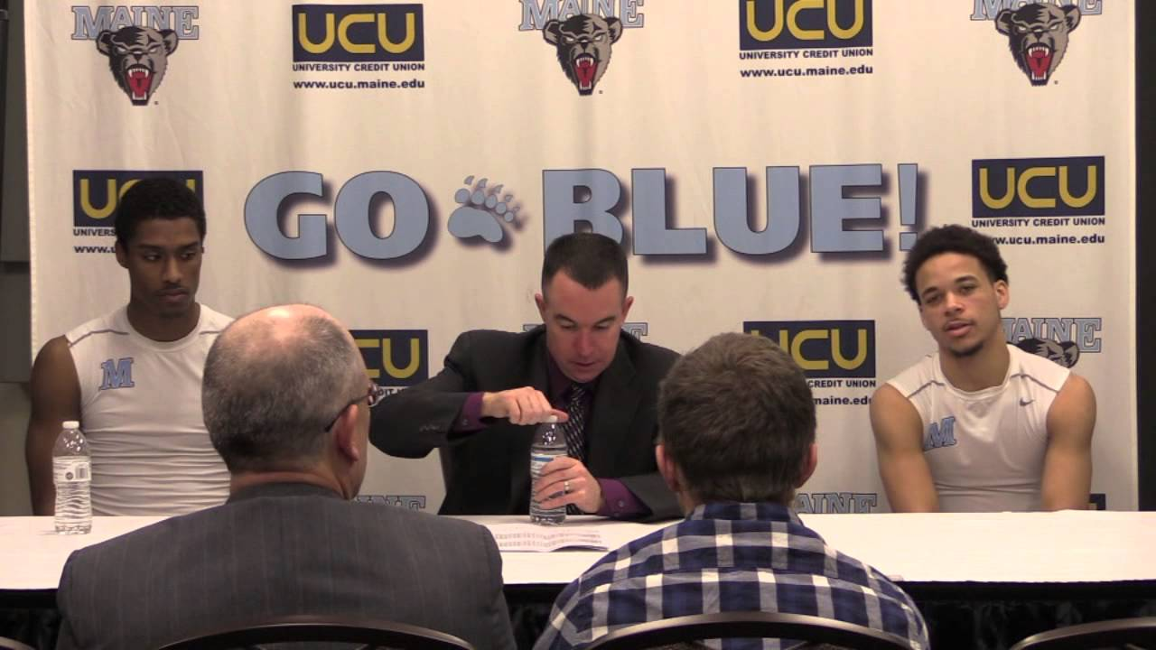 Mens Basketball vs. Army Press Conference - YouTube