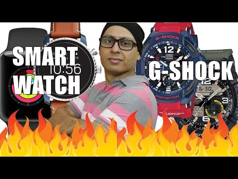 Smart Watch Vs G SHOCK