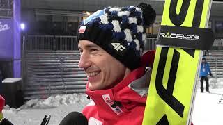 Kamil Stoch: Zmieniłem się od debiutu... [18.01.2019]
