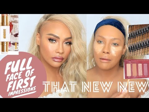 FULL FACE OF  FIRST IMPRESSIONS | SONJDRADELUXE
