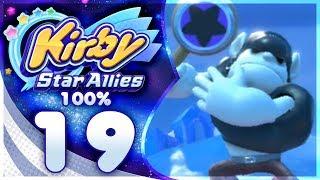 TWIN BONKERS! Kirby Star Allies - 100% Walkthrough: Far-Flung Starlight Heroes | Part 19!