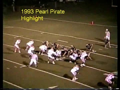 Pearl Pirate 1993 and 1992 Football Highlights