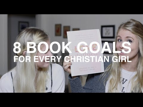 8 Book Goals for Every Christian Girl